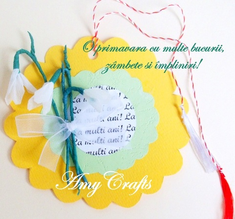 dedicatie de martisor